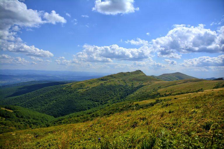Najpiękniejsze szczyty Bieszczad